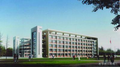 学校位于风景秀丽的沭阳新城区,占地109亩,建筑面积4万多平方米,总