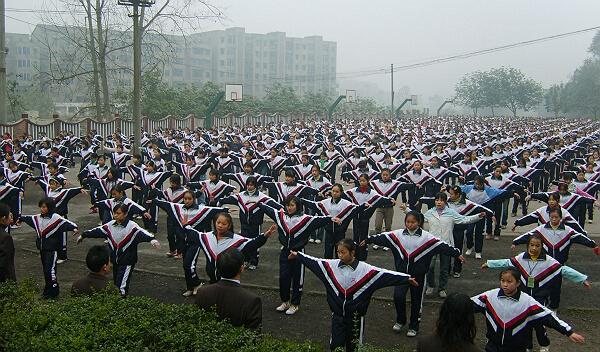 黄陂区李集镇方安中学